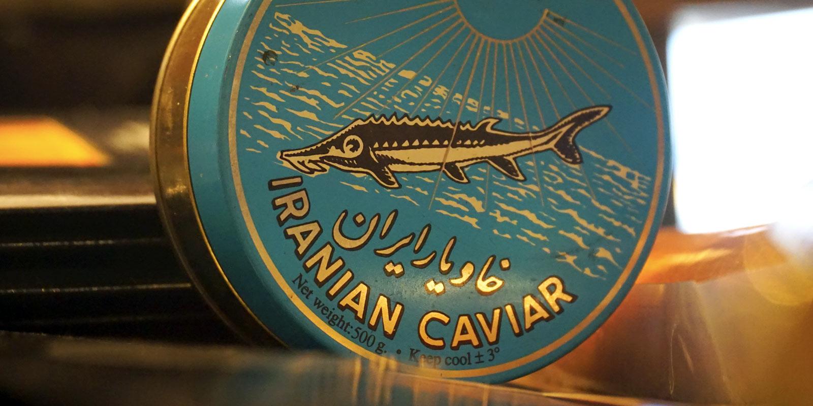 caviale iraniano