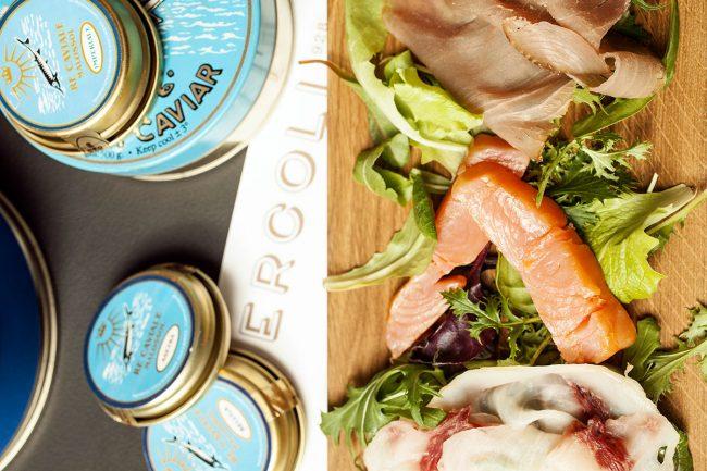 crudo di pesce caviale ercoli parioli ristorante