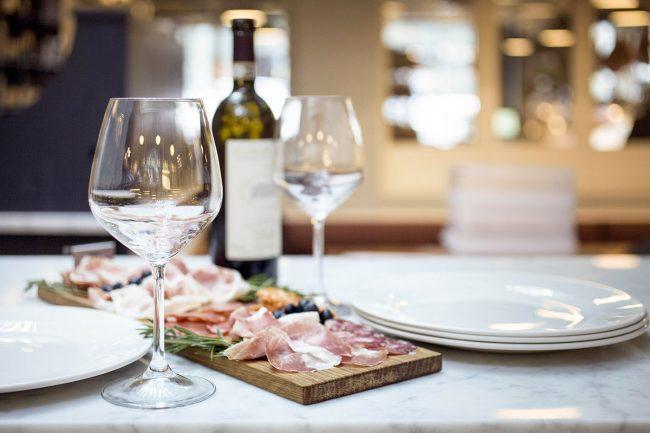 tagliere salumi vino ercoli parioli ristorante