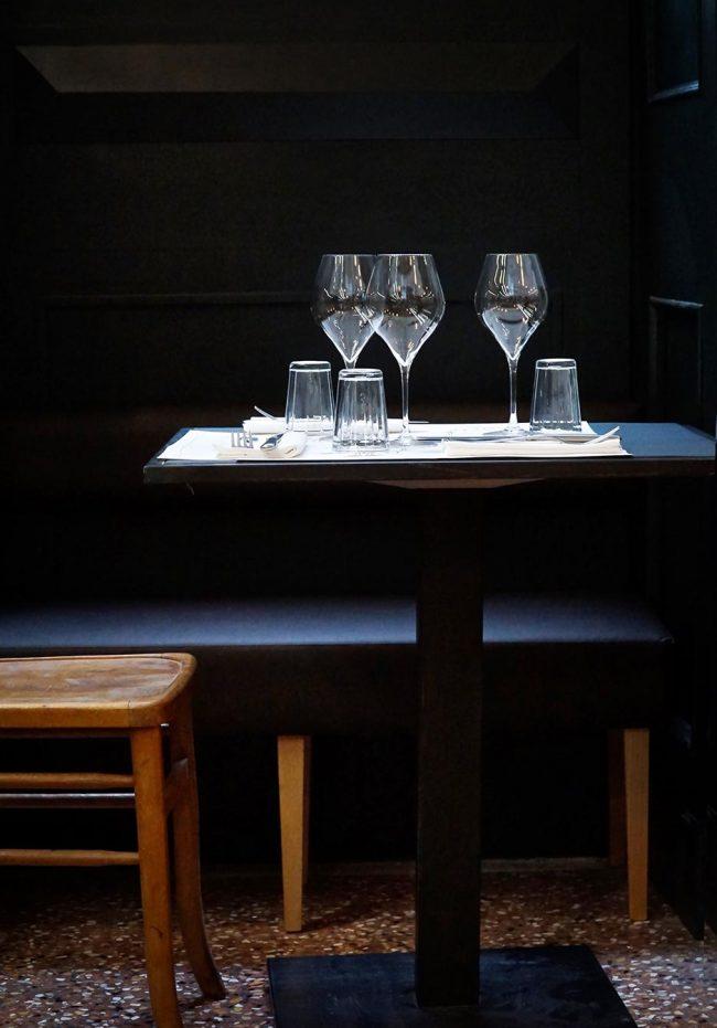 tavolo per due romantico