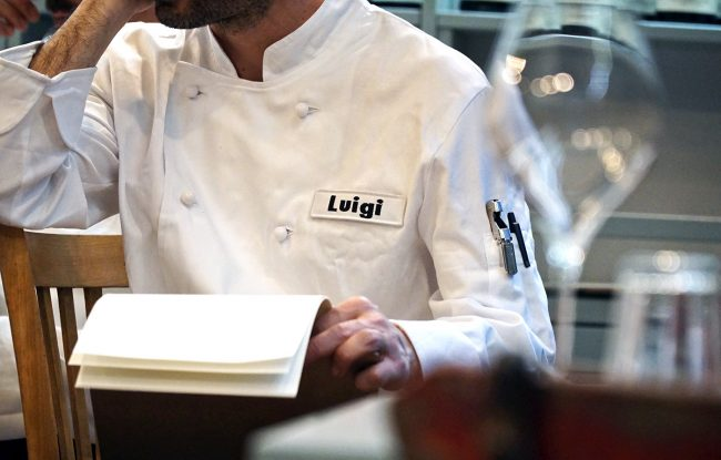 Luigi cameriere Ercoli