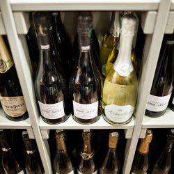 Proposta di champagne a scaffale