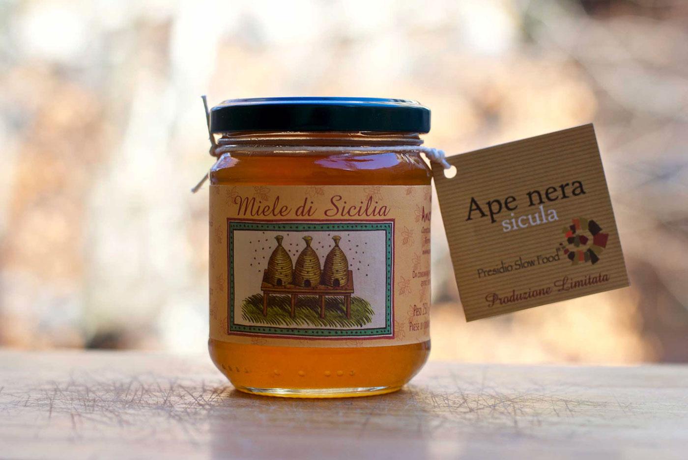 vasetto di miele Azienda Carlo Amodeo