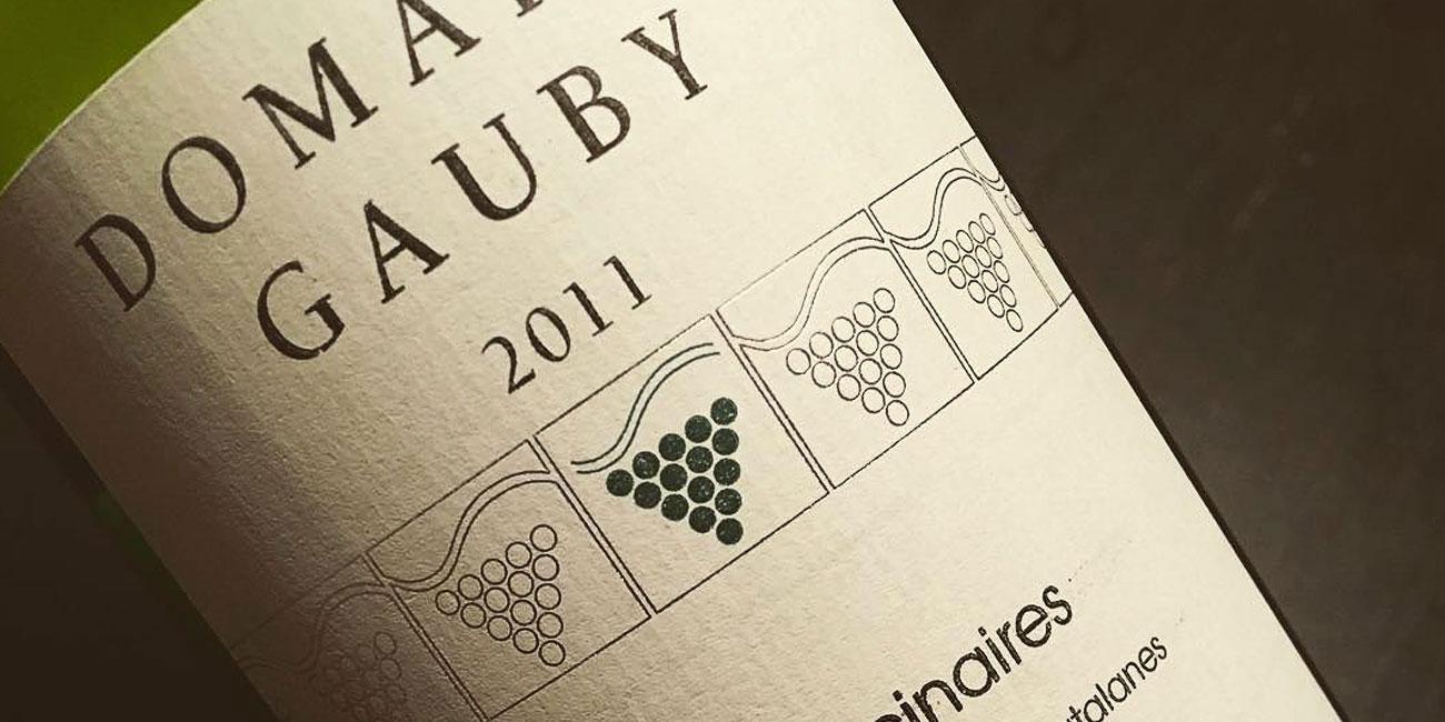 etichetta vino Gerard Gauby