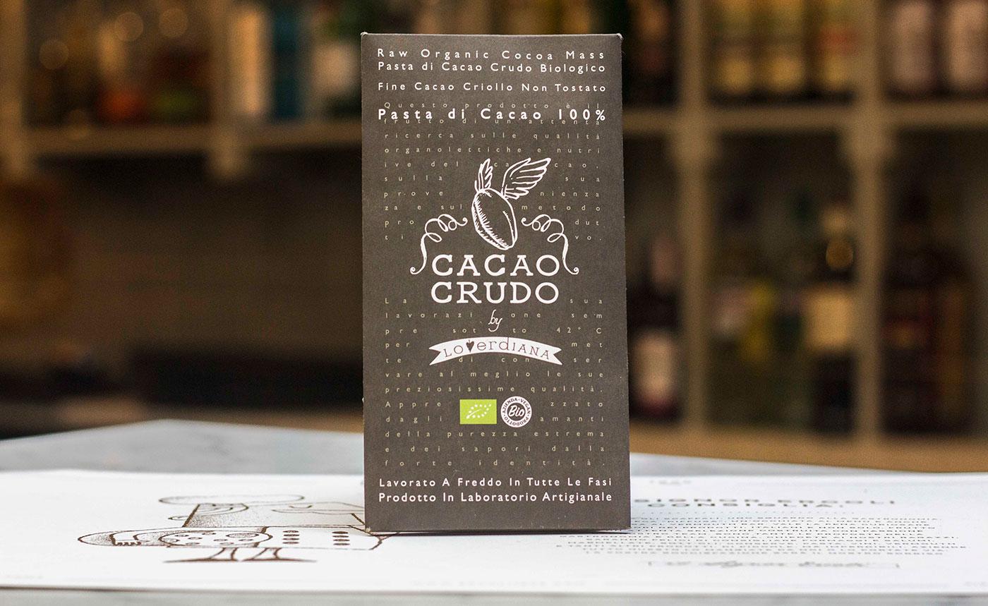 confezione di cacao crudo