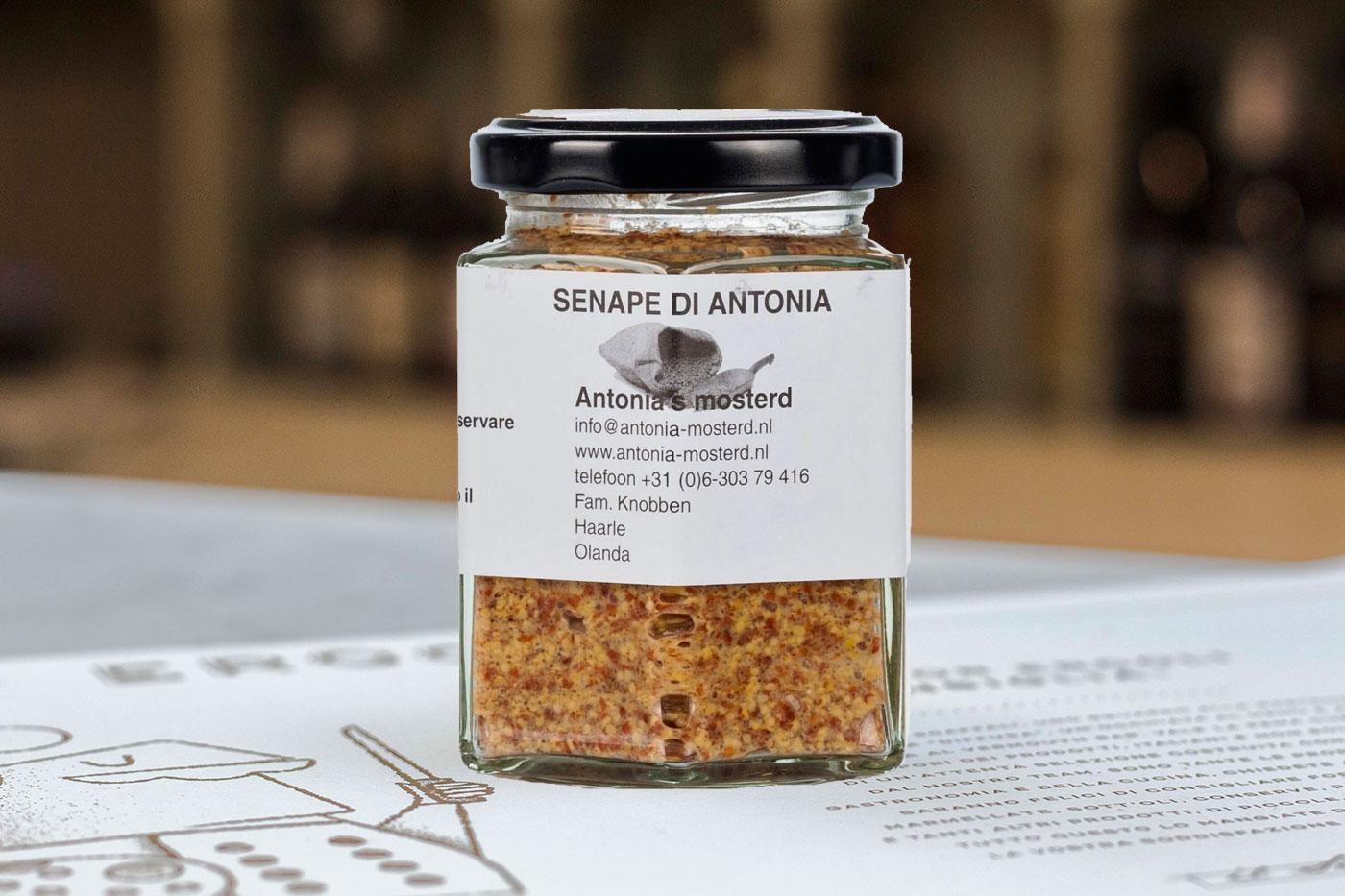 vasetto di senape Antonia's mosterd