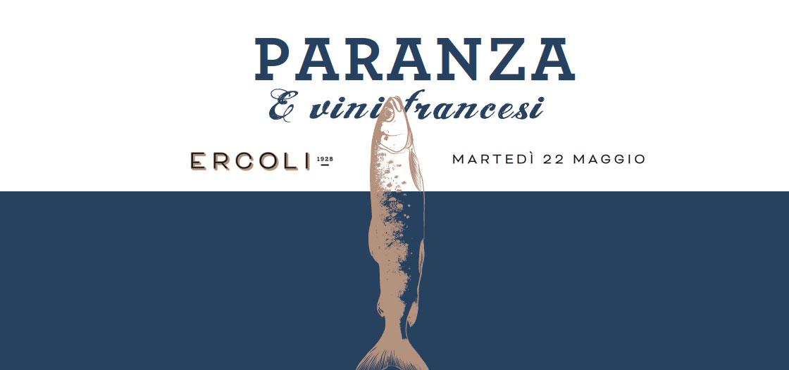 cena abbinamento pesce di paranza e vini francesi