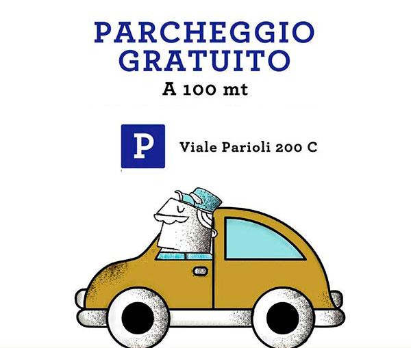 parcheggio gratis parioli