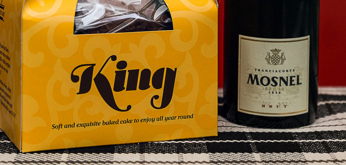 pacco natale panettone king