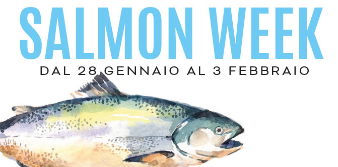 settimana dedicata al salmone