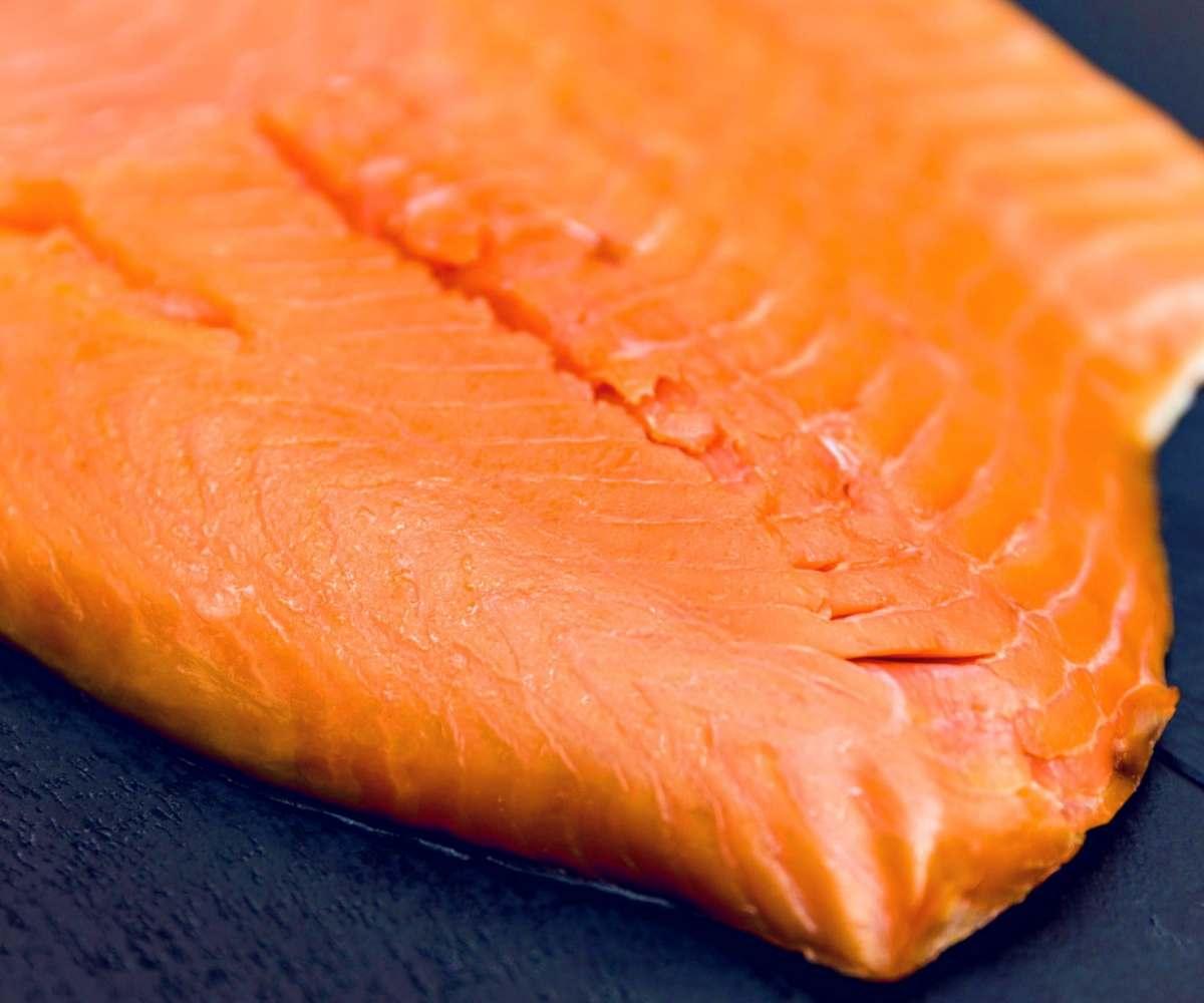 filetto di salmone red king selvaggio